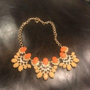Orange & Gold J. Crew Necklace!